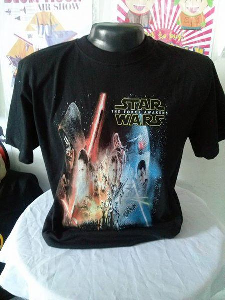 camiseta star wars 1