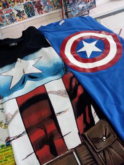 Camisetas capitan America