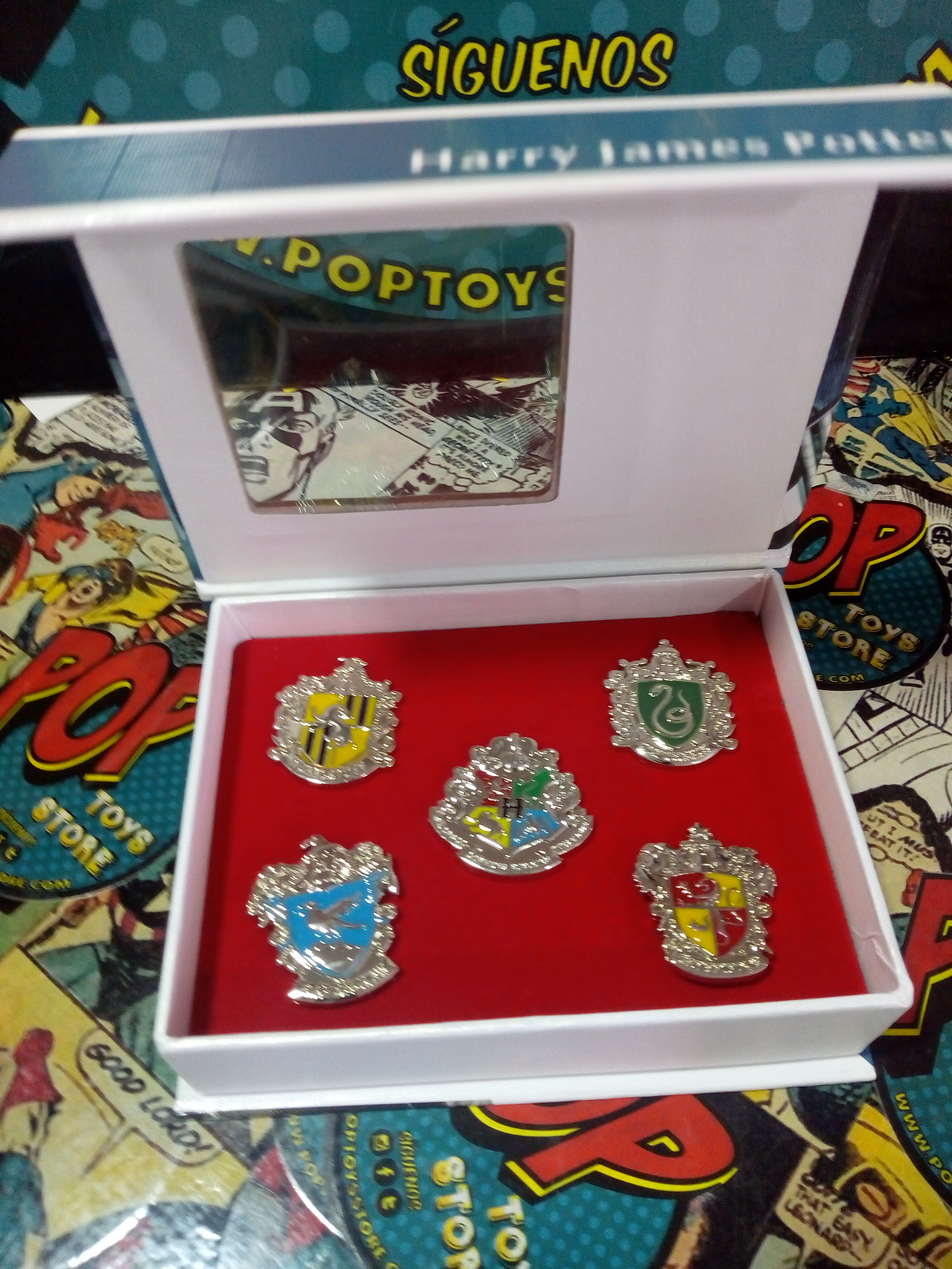 Set pines Harry potter x 5