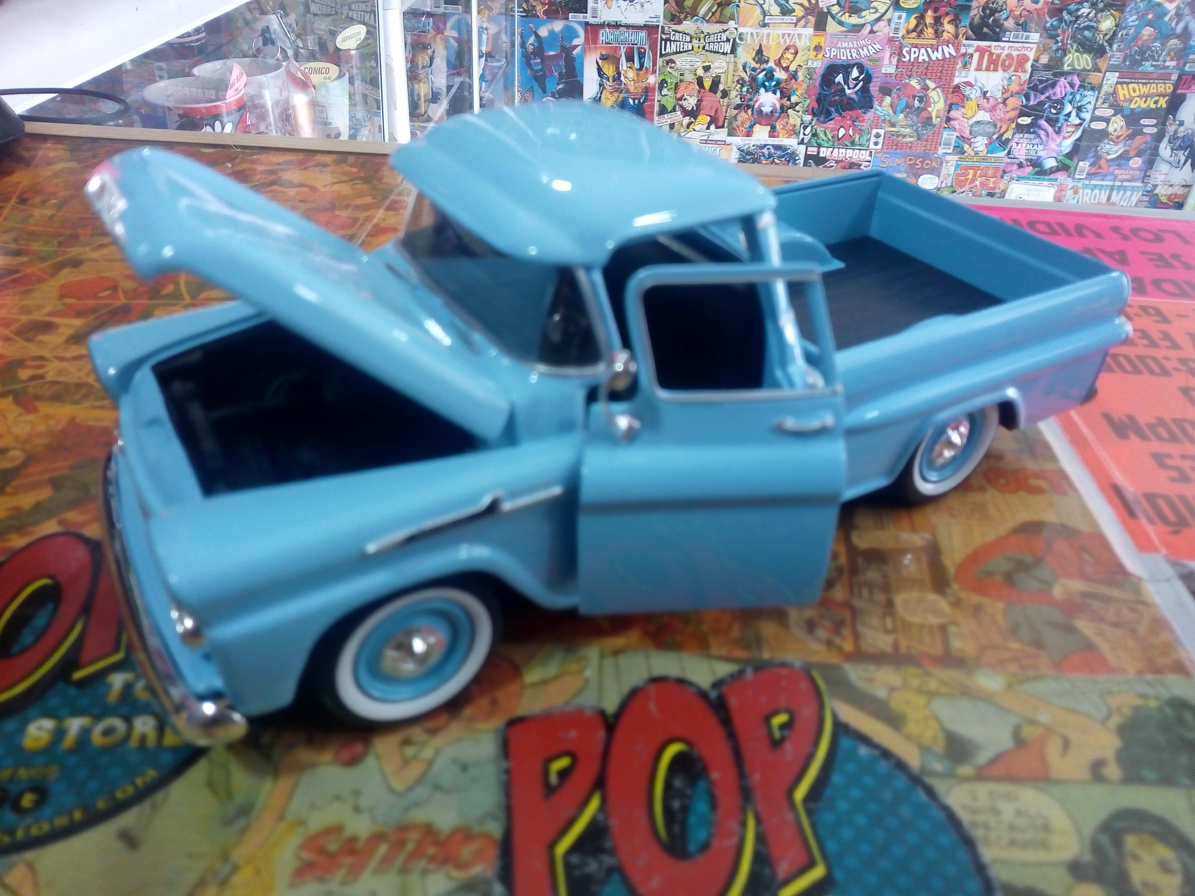 1958 chevy apache fleetside pickup