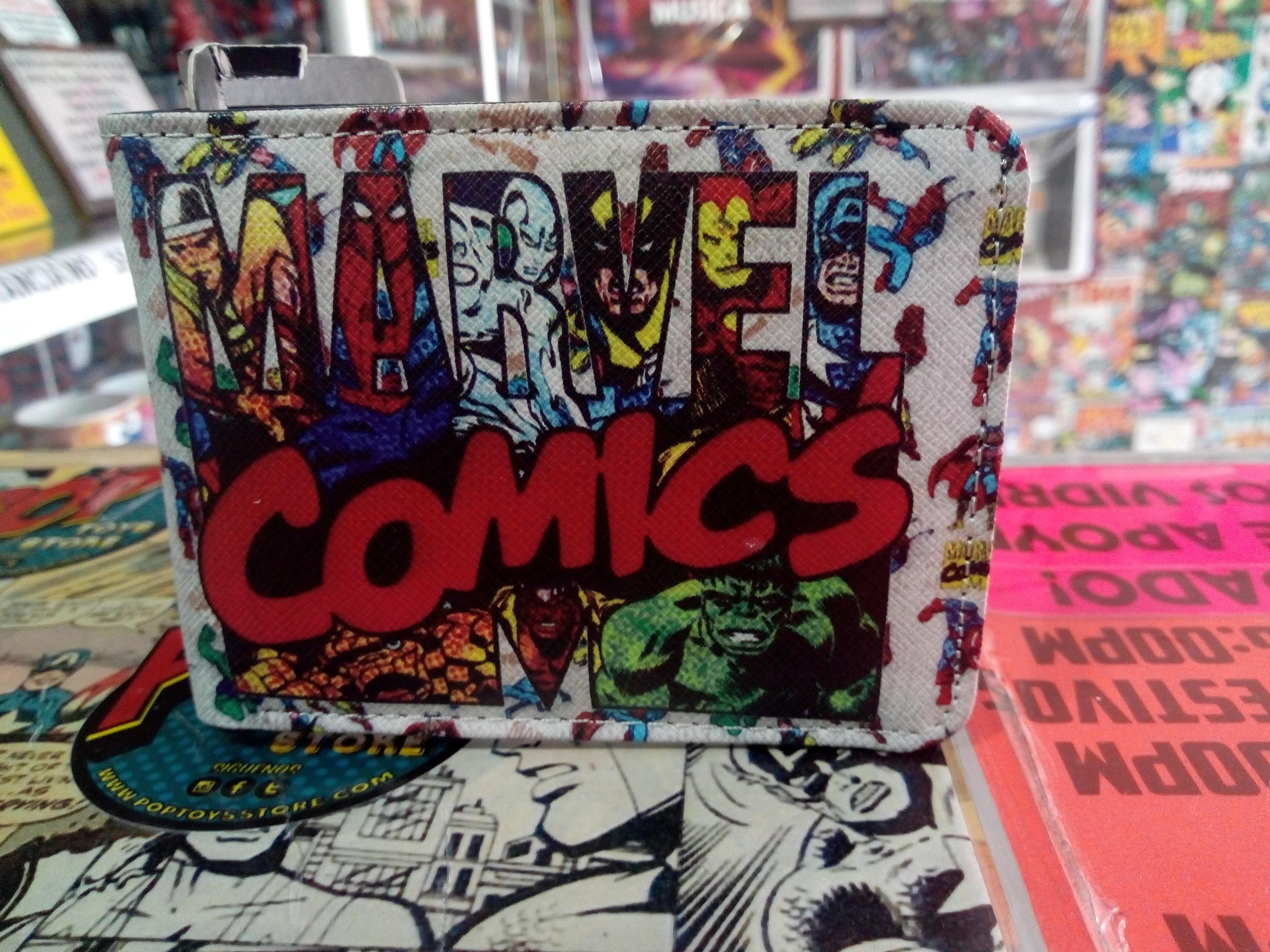 Billetera marvel comics 1