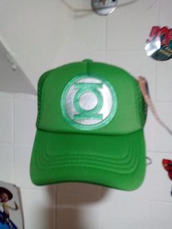Gorra niño  linterna verde