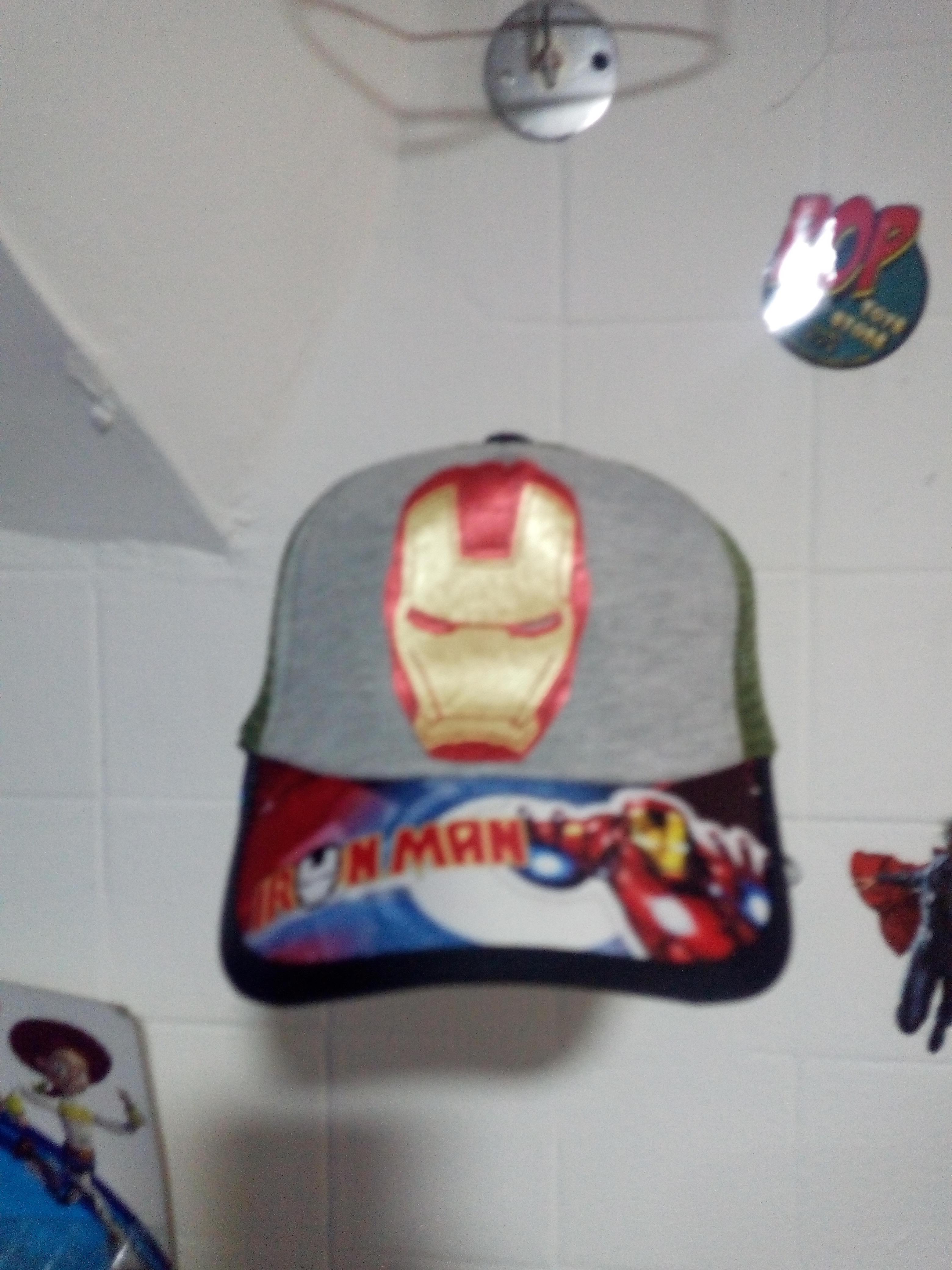 Gorra bebe Iron man