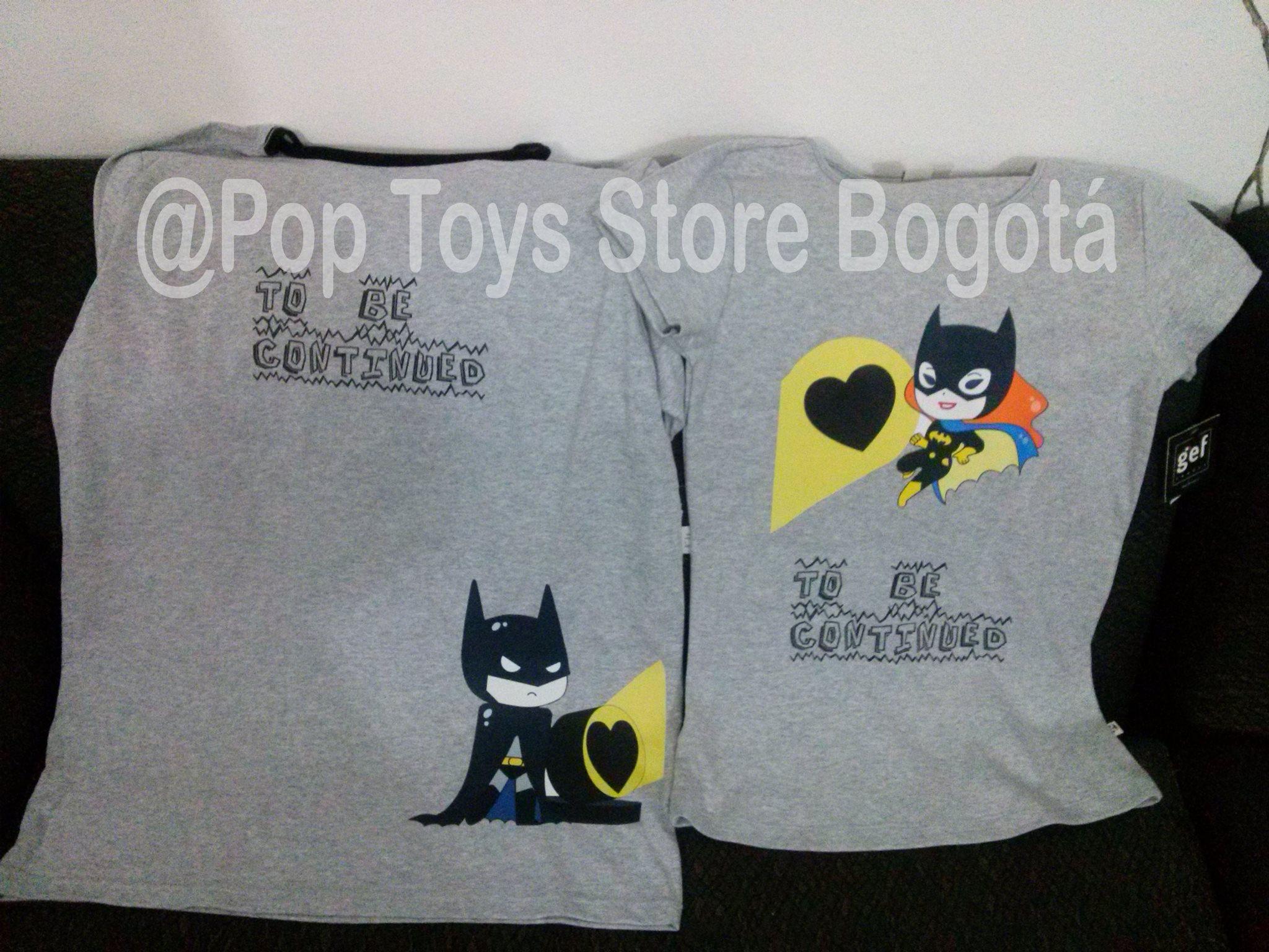camisetas pareja batman