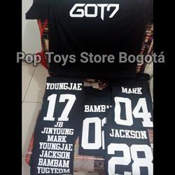 Camisetas Got7