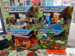 Minecraft tipo lego 1
