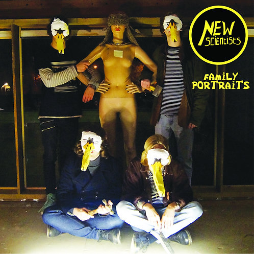 New Scientists - Family Portraits EP (CD)
