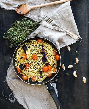 frische Spaghetti