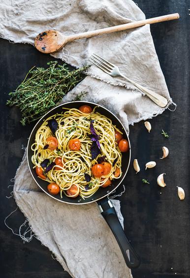 cuisine avec herbes fraiche