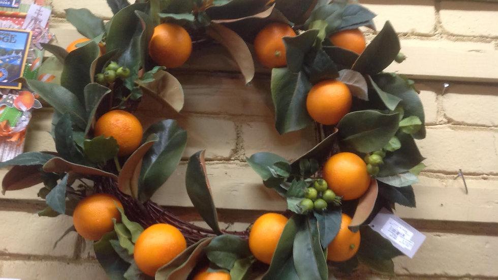 Orange Wreath