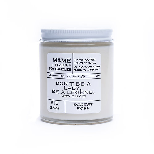 MAME Soy Candle - Desert Rose