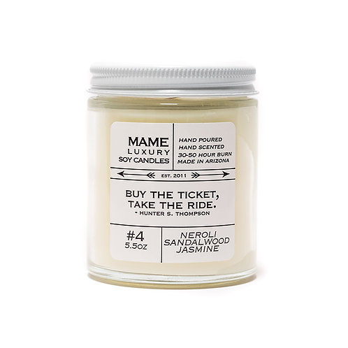 MAME Soy Candle - Neroli, Sandlewood and Jasmine