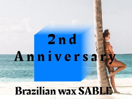 SABLEが2周年を迎えました♡
