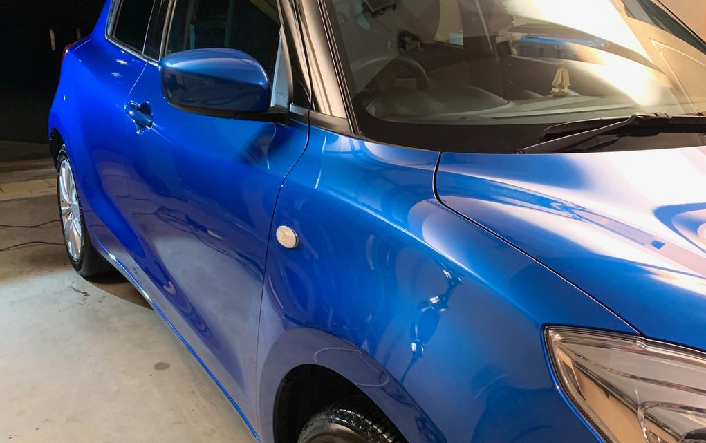 car cut and polish