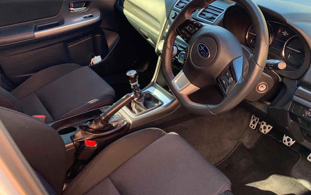 interior vehicle detailing