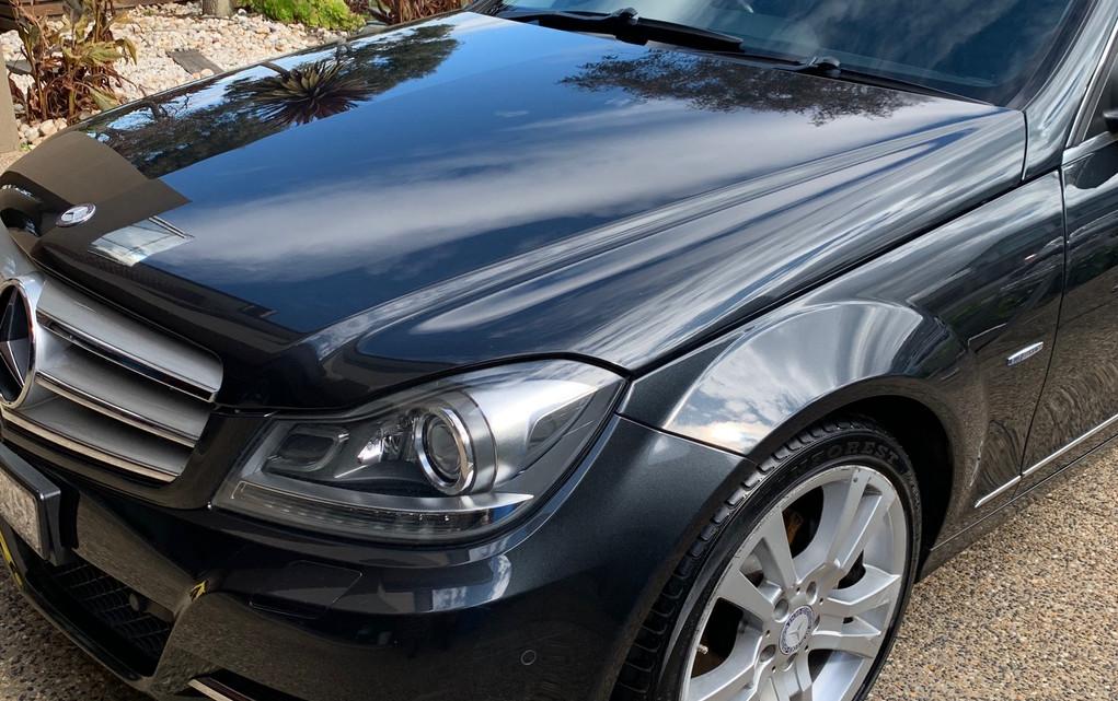 Full detailing Mercedes