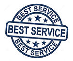 best-service-concept-icon-shows-first-cl