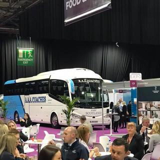 JR19 AAA at Visit Scotland Expo.