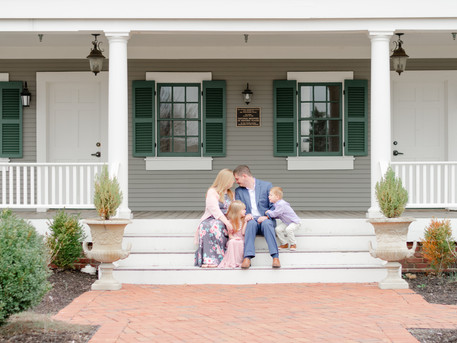Heritage Park Family Session | The Painter Family