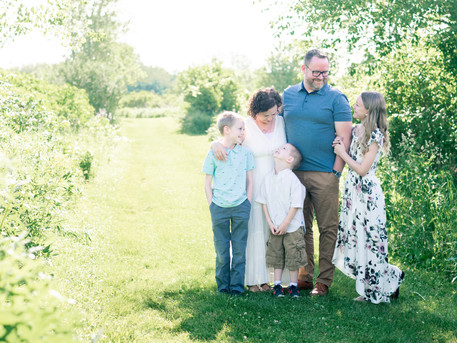 Wisconsin Family Session | The Abrahamson Family