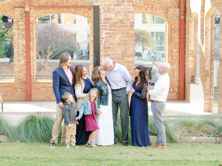 Downtown Greenville Family Session | The Billmans