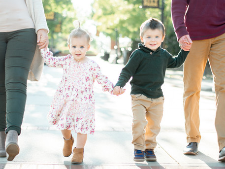 Greenville Family Photographer | Fall Family Session