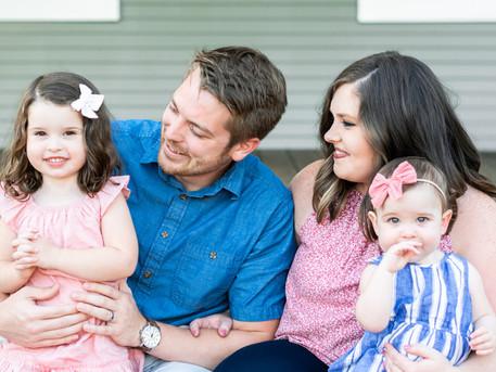 Fishers Family Photographer | Baby Margot