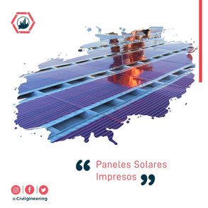 Paneles Solares Impresos