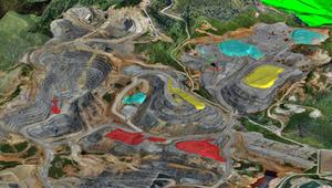 Proceso de prospección para localización de yacimientos