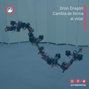 Dron Dragón: Cambia su forma al volar