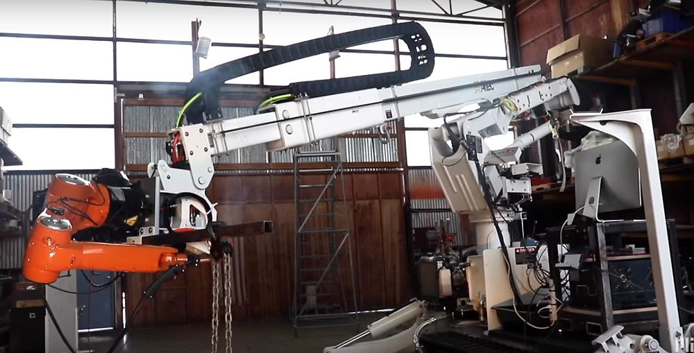Brazo robótico de presiciónpara impresión 3D