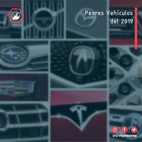Peores Vehículos del 2019