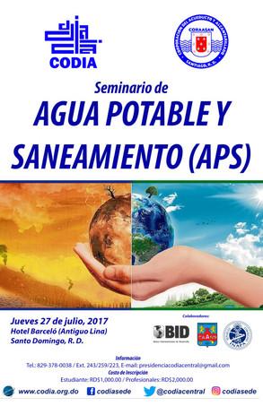 Seminario Agua Potable y Saneamiento (APS