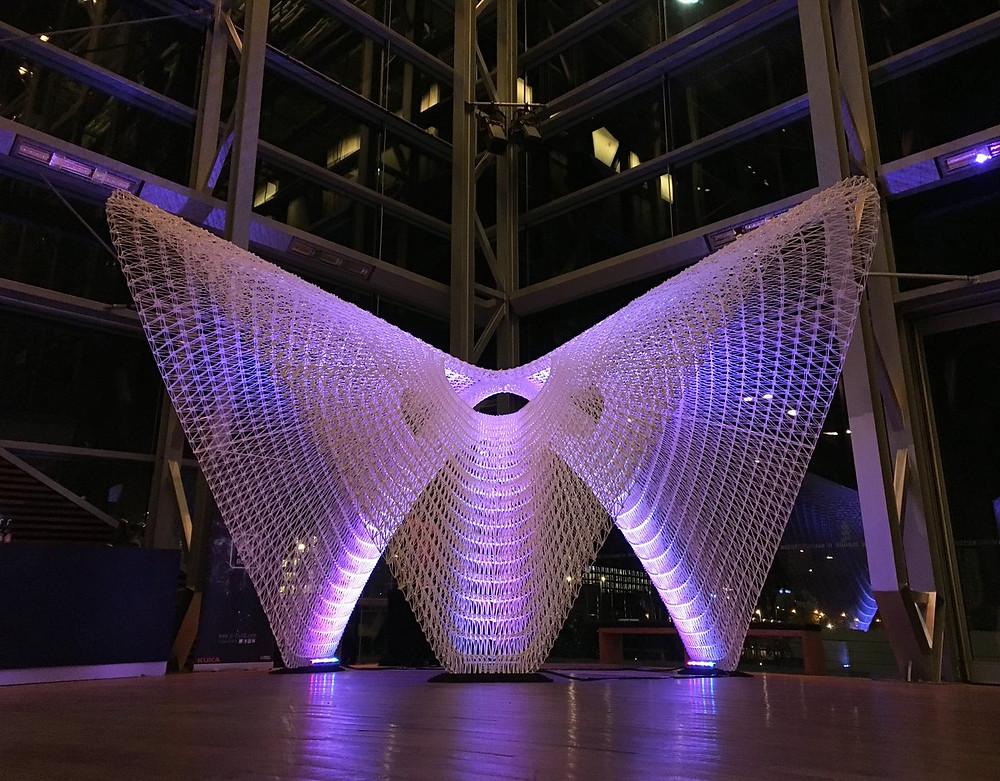 Daeddalus Pavilion por AI Build