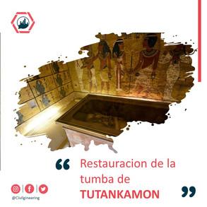 Restauracion de la Tumba de Tutankamon