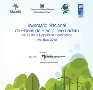 Inventario Nacional de Gases de Efecto Invernadero (INGEI) de la República Dominiana 2010