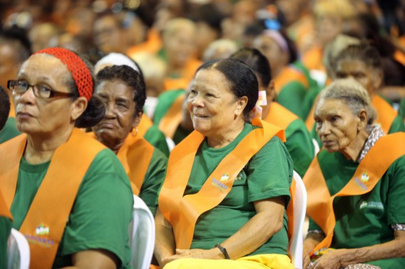 Participantes del Programa de Alfabetización Gobierno Dominicano