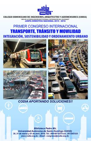 1er Congreso Internacional de Transporte, Tránsito y Movilidad