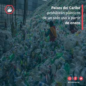 Países del Caribe prohibirán plásticos de un solo uso a partir de enero