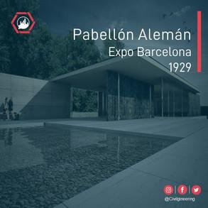 Pabellon Aleman. Expo Barcelona 1929.