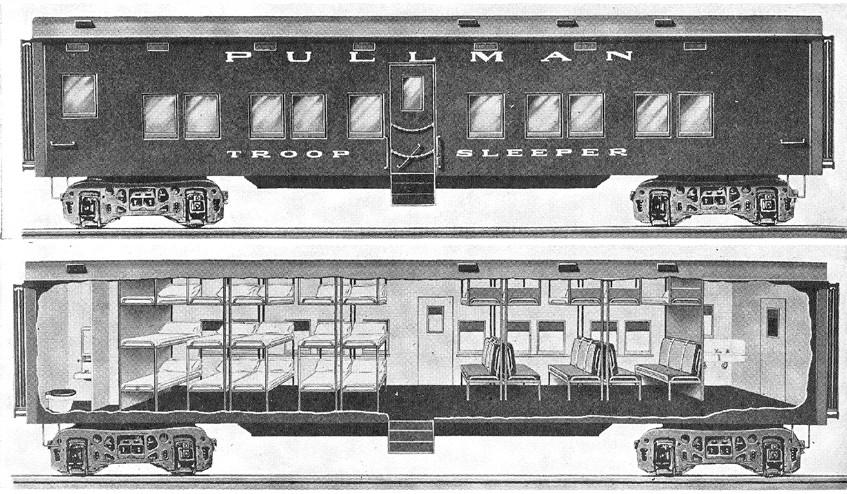 1ro septiembre de 1859 - 1er coche cama entra en servicio