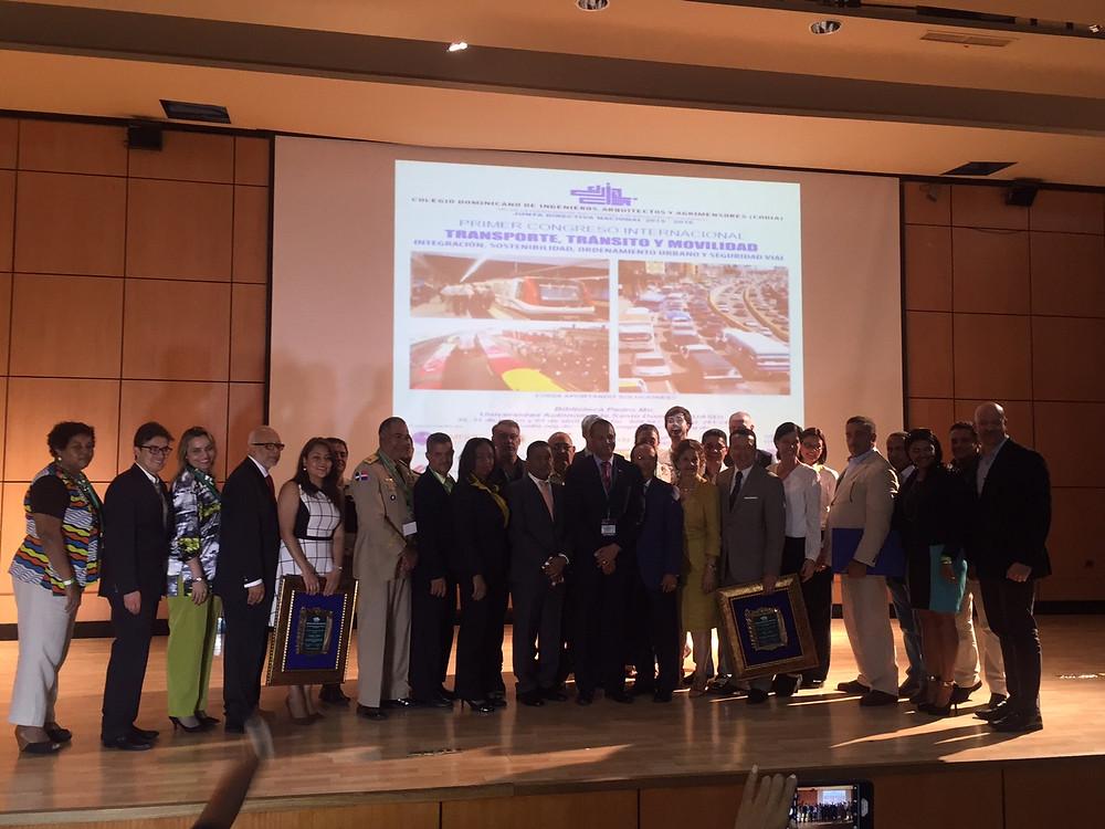 Cierre del 1er Congreso Internacional de Transporte, Tránsito y Movilidad