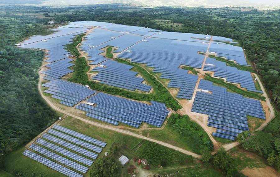 Planta de Energía Solar de Monte Plata