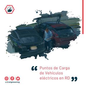 Puntos de Carga de Vehículos Eléctricos en RD