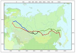 Ruta del Transiberiano