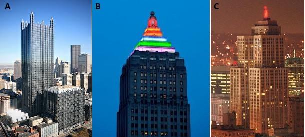 Algunos rascacielos interesantes de la ciudad de Pittsburgh