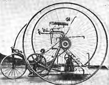 1er Triciclo eléctrico por Philip Pratt