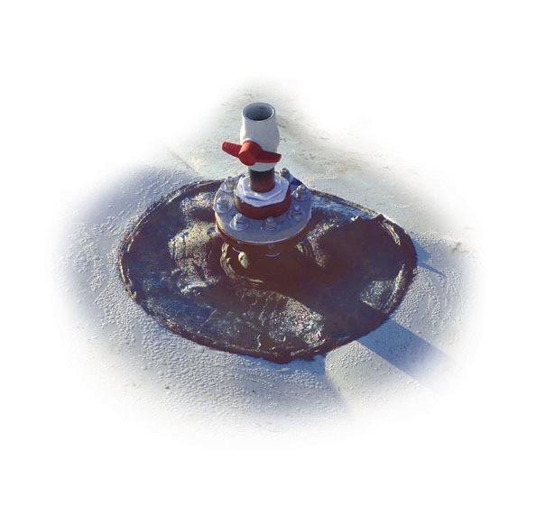 Válvulas de accionamiento manual para liberar biogás