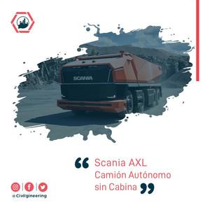 Scania AXL: Camión Autónomo sin Cabina