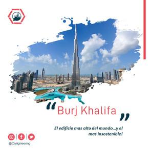 Burj Khalifa. El edificio mas alto del mundo.